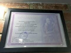 сертификат по наращиванию волос холодным методом
