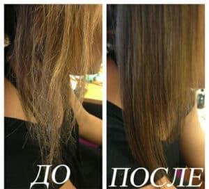 восстановление волос дома