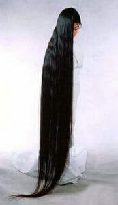 длинные натуральные волосы