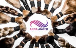 наращивание волос в СПб от Анны Ангер