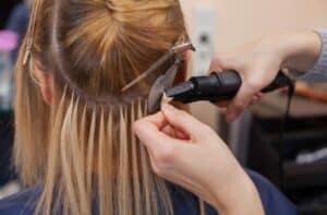 крепление капсулы при наращивании волос