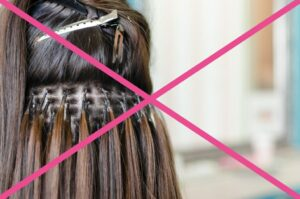 боль и дискомфорт - неудачное наращивание волос