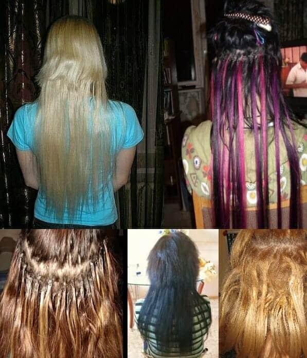 наращивание волос ужасы 2